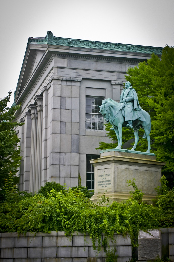 General Charles Devens Statue