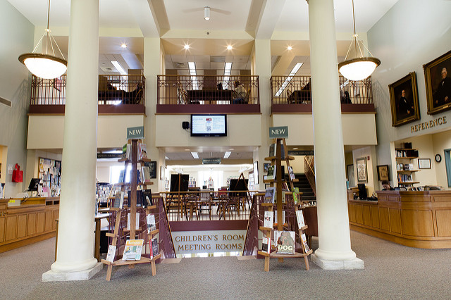 Southbridge Jacob Edwards Library