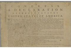 """Holding These Truths: A Panel Discussion about the Declaration of Independence"""