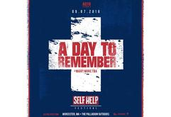A Day To Remember Presents Self Help Fest