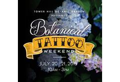 Botanical Tattoo Weekend
