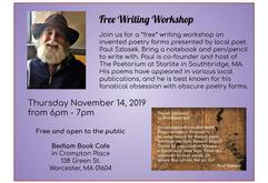Free Poetry Writing Workshop of Invented Forms