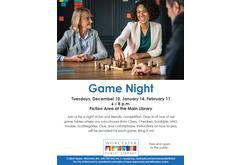 Game Night (Feb 2020)