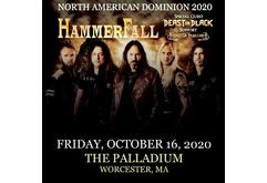 Hammerfall — North American Domination