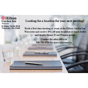 Special Deal for Meetings at the Hilton Garden Inn