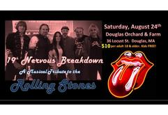 Live Music at the Pavilion: 19th Nervous Breakdown