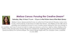 Melissa Caruso: Pursuing the Creative Dream