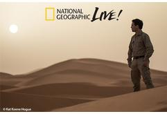 National Geographic Live speaker series in partnership with the Hanover Theatre (May 14, 2020)