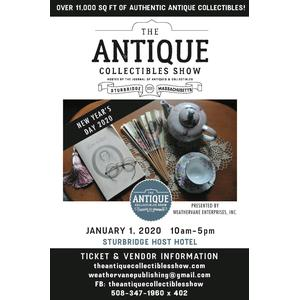 New Year's Day Antique Show Admission Discount