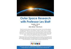 Outer Space Research with Les Blatt