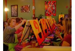 Paint Nite at Nu Cafe