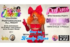 Queens 1 year anniversary party Featuring Kandy Muse!