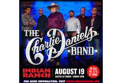 The Charlie Daniels Band at Indian Ranch in 2018
