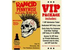 WAAF Presents: Rancid with guests Pennywise