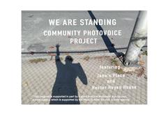 We Are Standing Community PhotoVoice Project (Virtually)