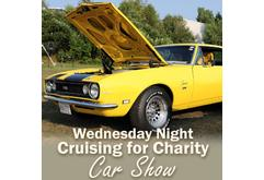 Wednesday Night Cruising for Charity Car Show - 2019
