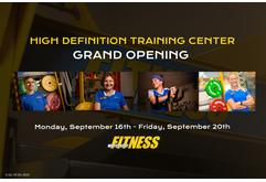 Worcester Fitness High Definition Training Center Grand Opening!