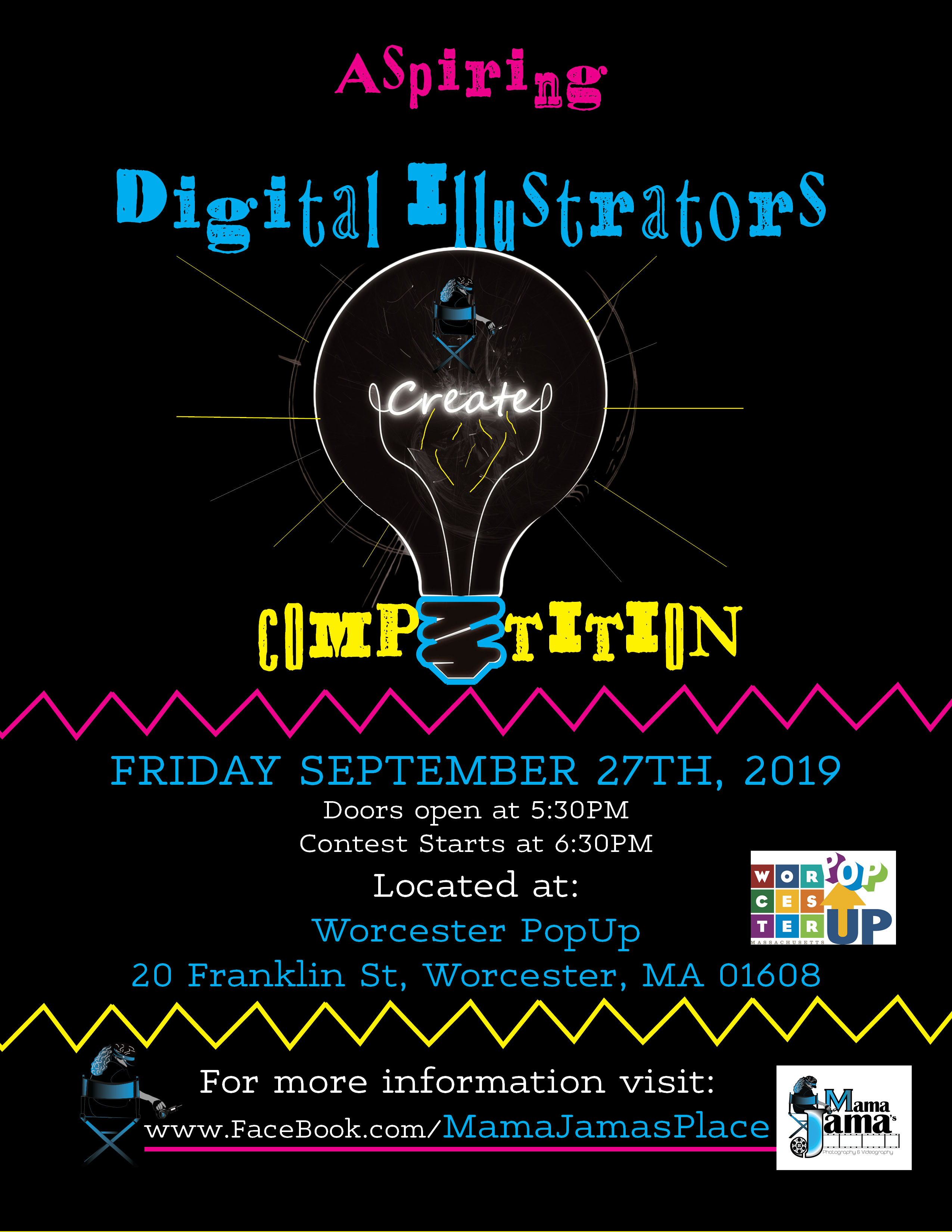 Digital Artists Competition - Local Event - Discover Central