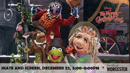 The Muppet Christmas Carol at the Worcester Common Oval Public Ice Skating Rink - Local Event ...