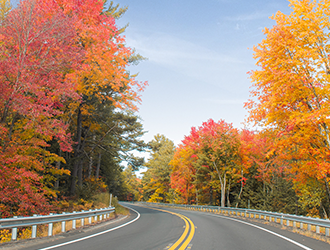 This Scenic Drive is Perfect for a Fall Day Trip