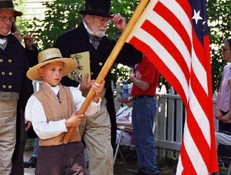 Old-Fashioned Patriotic Fun at OSV