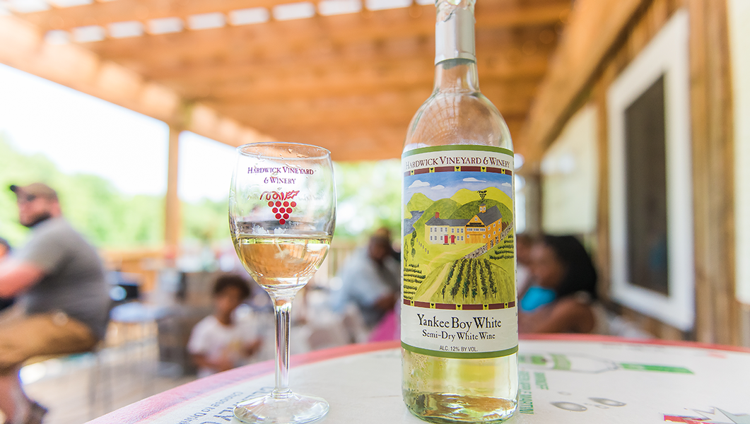 Explore the Central Massachusetts Wine Trail