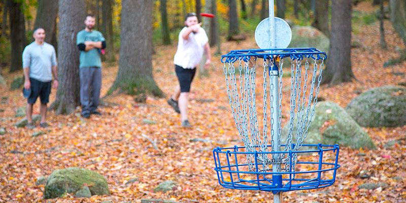 Top Spots to Play Disc Golf in Central Massachusetts