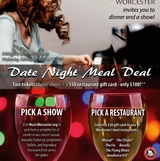 Music Worcester's Date Night Meal Deal