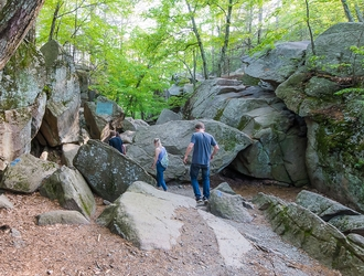 12. Get Adventurous at Purgatory Chasm State Reservation