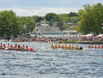 Regatta Season Kicks-off on Lake Quinsigamond with the Return of the New England Rowing Championships & the 43rd Eastern Sprints